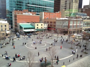 Market Square restaurants in downtown Pittsburgh